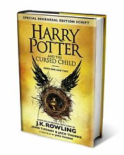 Harry Potter and the Cursed Child Parts Special Edition 1 & 2 Script Book 8 NEW!