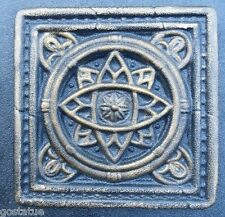 plaster mold concrete mold celtic orbital tile plastic mold