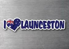 I Love Launceston sticker quality 7 year water & fade proof vinyl laptop car
