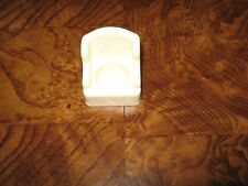 Vintage Fisher Price Little People White Arm Chair/Wing Chair