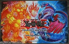 SPIELMATTE Feuerdrache und Eisdrache upper Deck Fire vs. Water Playmat YU-GI-OH