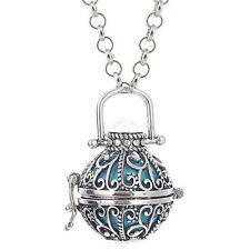 1×Harmony Ball Box Locket Necklace for Mexican Bell Prenatal Education Music Box