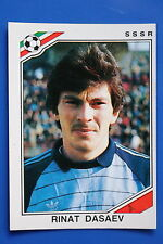 Panini WC MEXICO 86 STICKER N. 184 SSSR DASAEV  WITH BACK VERY GOOD