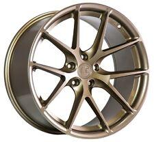 19x8.5 +30 AodHan LS007 5X112 Bronze Wheel Fit VW GOLF BEETLE GSR PREMIUM TDI