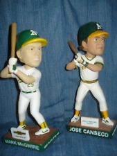 Oakland Athletics Bash Bothers Mark McGwire & Jose Canseco Bobblehead SGA A's