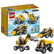 LEGO Creator Power Digger (31014) 3 IN 1  Excavator Construction RARE!