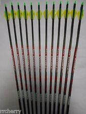 12 Victory VForce Sport 400 Carbon Arrows! WILL CUT TO LENGTH! spine aligned