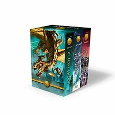 The Heroes of Olympus Paperback 3-Book Boxed Set, New, Free Shipping