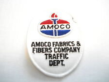 AMOCO FABRICS & FIBERS COMPANY TRAFFIC DEPT.  CLOTHING PATCH