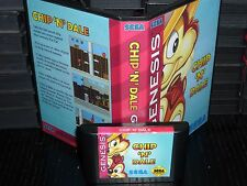 Chip 'N' Dale for Sega Genesis! Cart and Box!