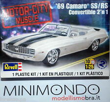 KIT 1969 CHEVROLET CAMARO CONVERTIBLE 3 IN 1 1/25 REVELL MONOGRAM 4929