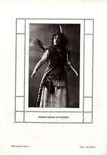 Die Schauspielerin Elisabeth Schneider als Penthesilea Weimarer Hoftheater 1912