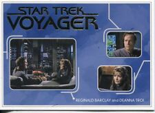 Star Trek Voyager H&V Gold Parallel Relationships Chase Card R15 Barclay  Troi