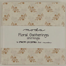 FLORAL GATHERINGS SHIRTINGS Charm Pack by Primitive Gatherings for Moda Fabrics