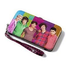 One Direction Glitter Smartphone Wristlet/Wallet - NEW