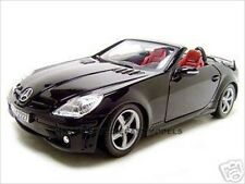 2005 MERCEDES SLK 55 AMG BLACK 1:18 DIECAST MODEL CAR BY MOTORMAX 73162
