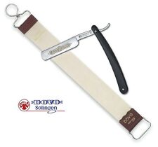 Dovo Straight Razor and Leather Strop 18""
