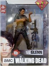 "GLENN RHEE The Walking Dead amc TV Show 10"" Deluxe Action Figure McFarlane 2016"