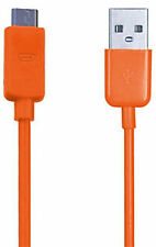 ARANCIONE USB Micro SYNC caricabatterie Cavo per Amazon Kindle Fire WIFI Kindle eReader