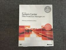 Data Protection Manager Server 2007 Enterprise 32bit/64bit 1 DPML DVD, Deutsch