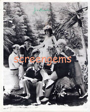 Gilligan's Island rare vintage photo signed Jim Backus and Natalie Schafer TV