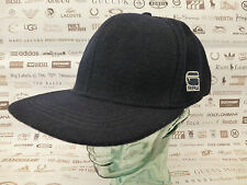 G-STAR RAW Flat Brim Cap OTIS NY M/Blue Wool Blend Hat O/S Caps BNWT RRP£45