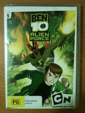 BEN 10 ~ ALIEN FORCE ~ VOLUME 5 ~ DVD ~ REGION 4