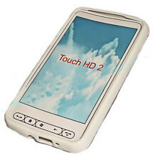 Protect cover case funda htc touch hd2 HD 2 blanco