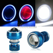 Red Devil Eye+ Blue Halo Projector Headlight Fit Suzuki GSXR 600 750 1000