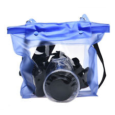 Digital Camera DSLR Case Underwater Pouch Bag For Canon For Sony BU