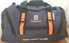 HUSQVARNA Chainsaw Clothing / Sports Kit Bag Blue Orange