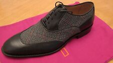 $950 Amazing ETRO Black Oxford Shoes sz 10 NEW !!!