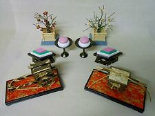 #01 Set of 8 Japanese Accessories for Small HINA Dolls