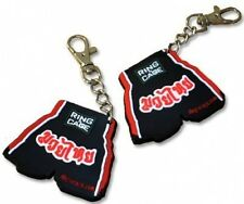RING TO CAGE Mini Muay Thai Short Keychain - Rubber- NEW !!