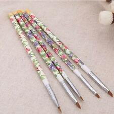 5pcs UV Gel Acrylic Nail Art Brush Painting Pen Set Nail Design Manicure Tool D1
