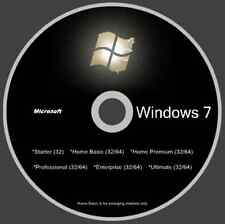 Windows 7 w/SP1 (11 Versions 1 Disc) - Incl. Enterprise Version - Smooth As Silk