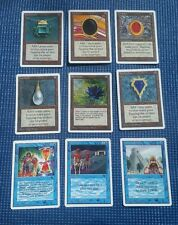 mtg - Full Set of Power 9 Black Lotus, Mox Jet, proxies +FREE CARD YOUR CHOICE