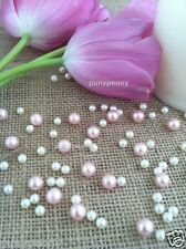 150 Pcs Pearl Ivory/Blush Pink Table Scatters/Confetti For Wedding/Decor/Events