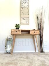 Brand New  Solid timber Natural Scandinavian Style Wooden Console Hall  table