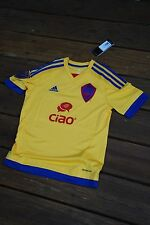 Colorado Rapids Youth Medium Yellow Soccer Jersey by Adidas new with tags