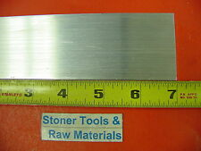 "1/8"" X 2"" ALUMINUM 6061 FLAT BAR 7"" long T6511 .125"" Plate New Mill Stock"