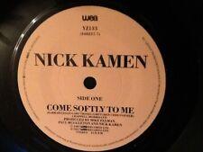 NICK KAMEN . COME SOFTLY TO ME  . 1987 .