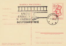 Poland postmark HRUBIESZOW - fire prevention