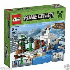 LEGO Minecraft 21120 the Snow Hideout Building Kit Minecraft Creations 6102223