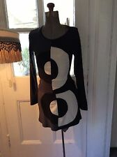 VIntage 60s mod dress Made  In Italy Size Small