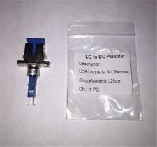 Certicable LC/Male  -  SC/Female Adapter Single Mode SM Fiber Optic Connector