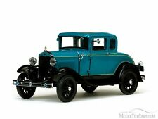 1931 Ford Model A Coupe, Blue - Sunstar 6130 - 1/18 Scale Diecast Model Toy Car