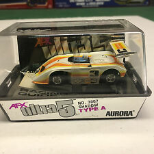 NEW IN CASE #3 SHADOW LOLA CAN AM AFX AURORA ULTRA 5 HO SLOT CAR
