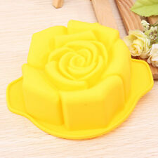 BG441 Rose Shape Silicone Cake Pan Mold Baking Mould