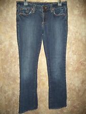 LUCKY BRAND DUNGAREES LOLA BOOT JEANS SIZE 6 (WAIST 31 INCHES)(INSEAM 33 INCHES)